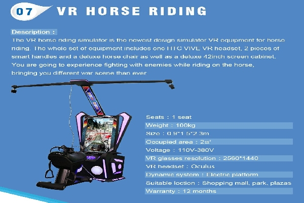 VR Horse Riding