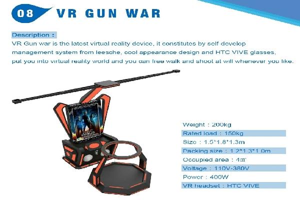 VR Gun War