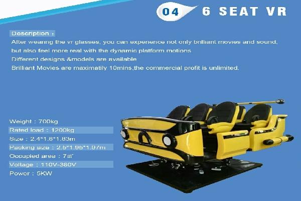 VR 6 Seats