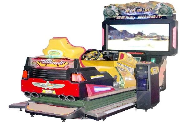 3D Motion Racing Car