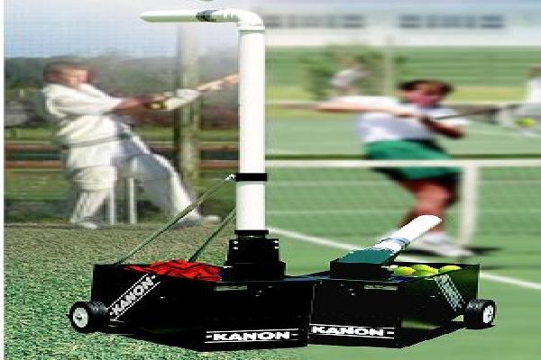 Cricket Bowlig Machine Photo