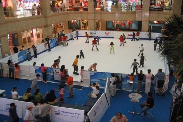 Skating Rinks Artificial Snow