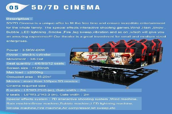 5D ,7D Cinema